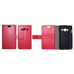 Samsung Galaxy Trend 2/S Duos 3/Trend 2 Lite - Preklopna torbica (WL) - rdeča