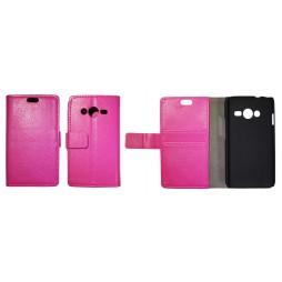 Samsung Galaxy Trend 2/S Duos 3/Trend 2 Lite - Preklopna torbica (WL) - roza