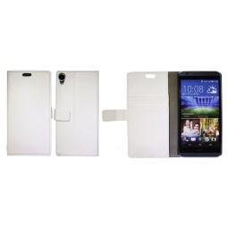 HTC Desire 820 - Preklopna torbica (WL) - bela