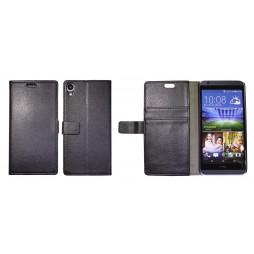 HTC Desire 820 - Preklopna torbica (WL) - črna