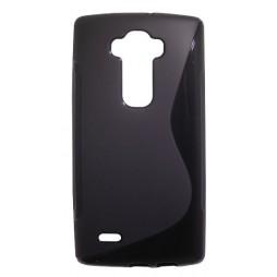 LG G Flex 2 - Gumiran ovitek (TPU) - črn SLine