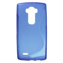 LG G Flex 2 - Gumiran ovitek (TPU) - modro-prosojen SLine