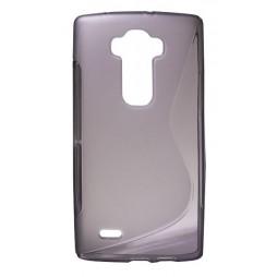LG G Flex 2 - Gumiran ovitek (TPU) - sivo-prosojen SLine