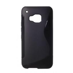 HTC One M9 - Gumiran ovitek (TPU) - črn SLine