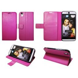 HTC Desire Eye - Preklopna torbica (WLG) - roza