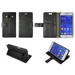 Samsung Galaxy Core Prime - Preklopna torbica (WL) - črna
