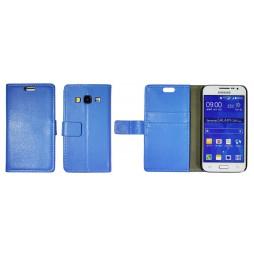 Samsung Galaxy Core Prime - Preklopna torbica (WL) - modra