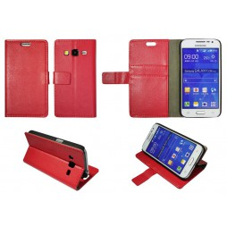 Samsung Galaxy Core Prime - Preklopna torbica (WL) - rdeča