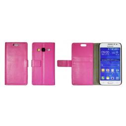 Samsung Galaxy Core Prime - Preklopna torbica (WL) - roza