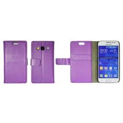 Samsung Galaxy Core Prime - Preklopna torbica (WL) - vijolična