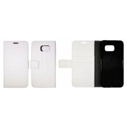 Samsung Galaxy S6 - Preklopna torbica (WLG) - bela
