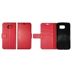 Samsung Galaxy S6 - Preklopna torbica (WLG) - rdeča