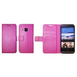 HTC One M9 - Preklopna torbica (WLG) - roza