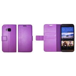 HTC One M9 - Preklopna torbica (WLG) - vijolična