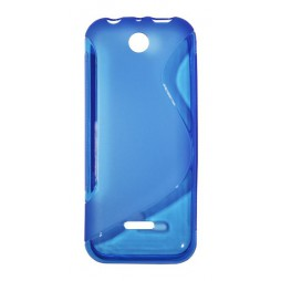 Nokia 225 - Gumiran ovitek (TPU) - modro-prosojen SLine