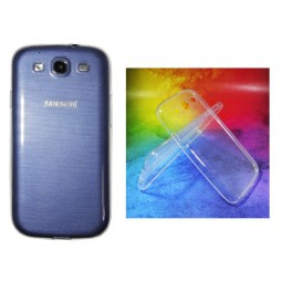 Samsung Galaxy S3 - Gumiran ovitek (TPUA) - prosojen