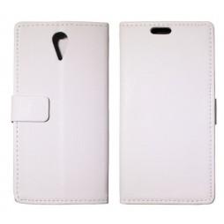 HTC Desire 620 - Preklopna torbica (WL) - bela
