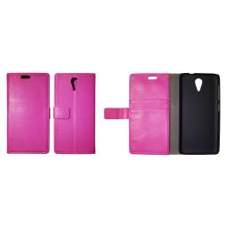 HTC Desire 620 - Preklopna torbica (WL) - roza