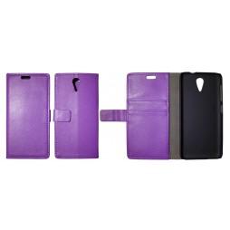 HTC Desire 620 - Preklopna torbica (WL) - vijolična