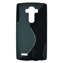 LG G4 - Gumiran ovitek (TPU) - črn SLine