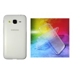 Samsung Galaxy Core Prime - Gumiran ovitek (TPUA) - prosojen