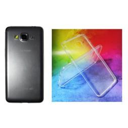 Samsung Galaxy Grand Prime - Gumiran ovitek (TPUA) - prosojen