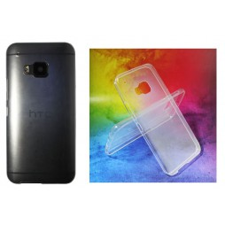 HTC One M9 - Gumiran ovitek (TPUA) - prosojen