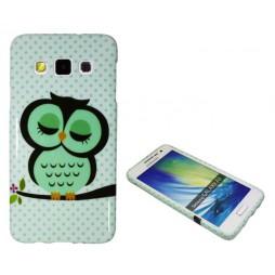 Samsung Galaxy A3 - Gumiran ovitek (TPUP) - Owl