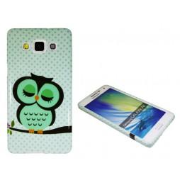 Samsung Galaxy A5 - Gumiran ovitek (TPUP) - Owl