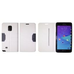 Samsung Galaxy Note Edge - Preklopna torbica (47G) - bela
