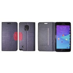 Samsung Galaxy Note Edge - Preklopna torbica (47G) - črna