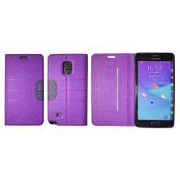 Samsung Galaxy Note Edge - Preklopna torbica (47G) - vijolična