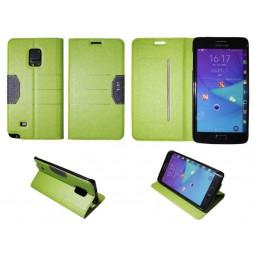 Samsung Galaxy Note Edge - Preklopna torbica (47G) - zelena