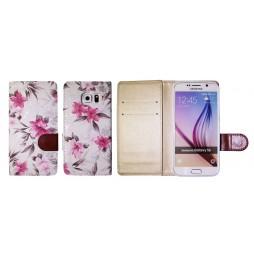 Samsung Galaxy S6 - Preklopna torbica (64) - bela