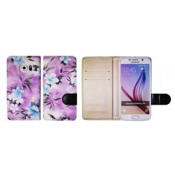 Samsung Galaxy S6 - Preklopna torbica (64) - vijolična