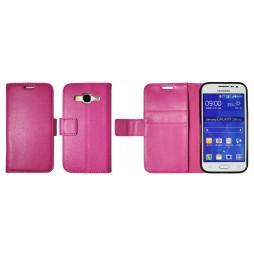 Samsung Galaxy Core Prime - Preklopna torbica (WLG) - roza