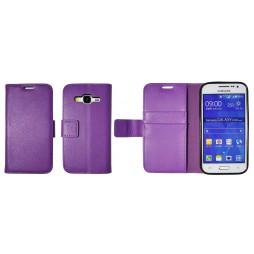 Samsung Galaxy Core Prime - Preklopna torbica (WLG) - vijolična