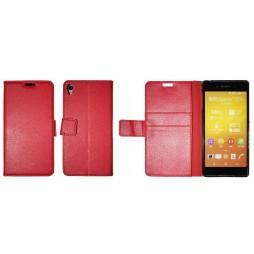 Sony Xperia Z3+ - Preklopna torbica (WLG) - rdeča