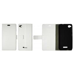 HTC Desire 320 - Preklopna torbica (WL) - bela