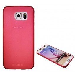 Samsung Galaxy S6 - Gumiran ovitek (TPUT) - rdeč