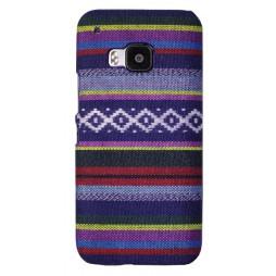 HTC One M9 - Okrasni pokrovček (59F) - vzorec 03