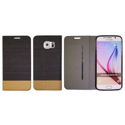 Samsung Galaxy S6 - Preklopna torbica (67G) - črna