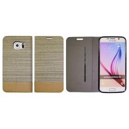 Samsung Galaxy S6 - Preklopna torbica (67G) - bež
