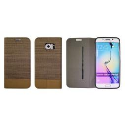 Samsung Galaxy S6 Edge - Preklopna torbica (67G) - rjava