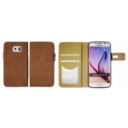 Samsung Galaxy S6 - Preklopna torbica (68GL) - rjava