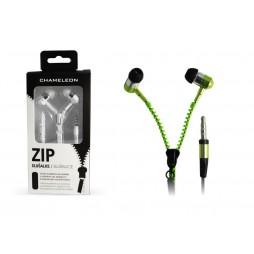 Chameleon 3.5 HI-FI stereo slušalke ZIP 2040 zelene