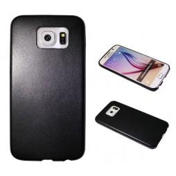 Samsung Galaxy S6 - Okrasni pokrovček (43) - črn