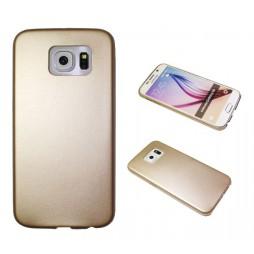 Samsung Galaxy S6 - Okrasni pokrovček (43) - zlat