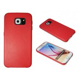 Samsung Galaxy S6 - Okrasni pokrovček (43A) - rdeč