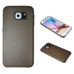 Samsung Galaxy S6 - Okrasni pokrovček (43A) - rjav